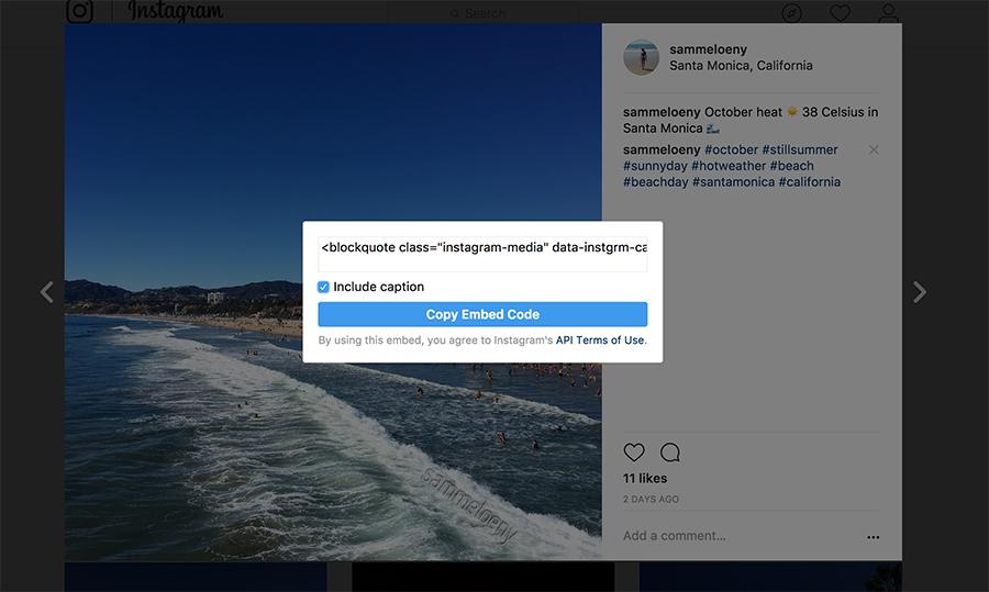 Republish Instagram to Facebook