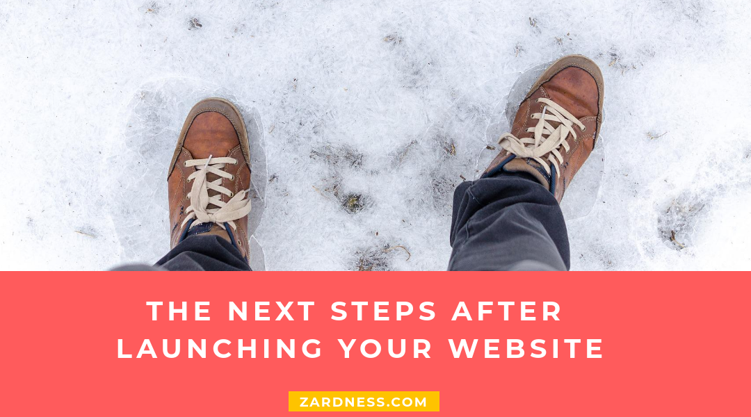 The next steps after launching your website